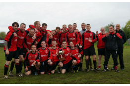 Bonnybridge defeat KMW to win the Robertson Trophy......