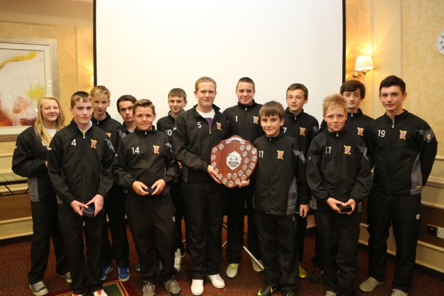 Formartine United YFC 14s League B Winners