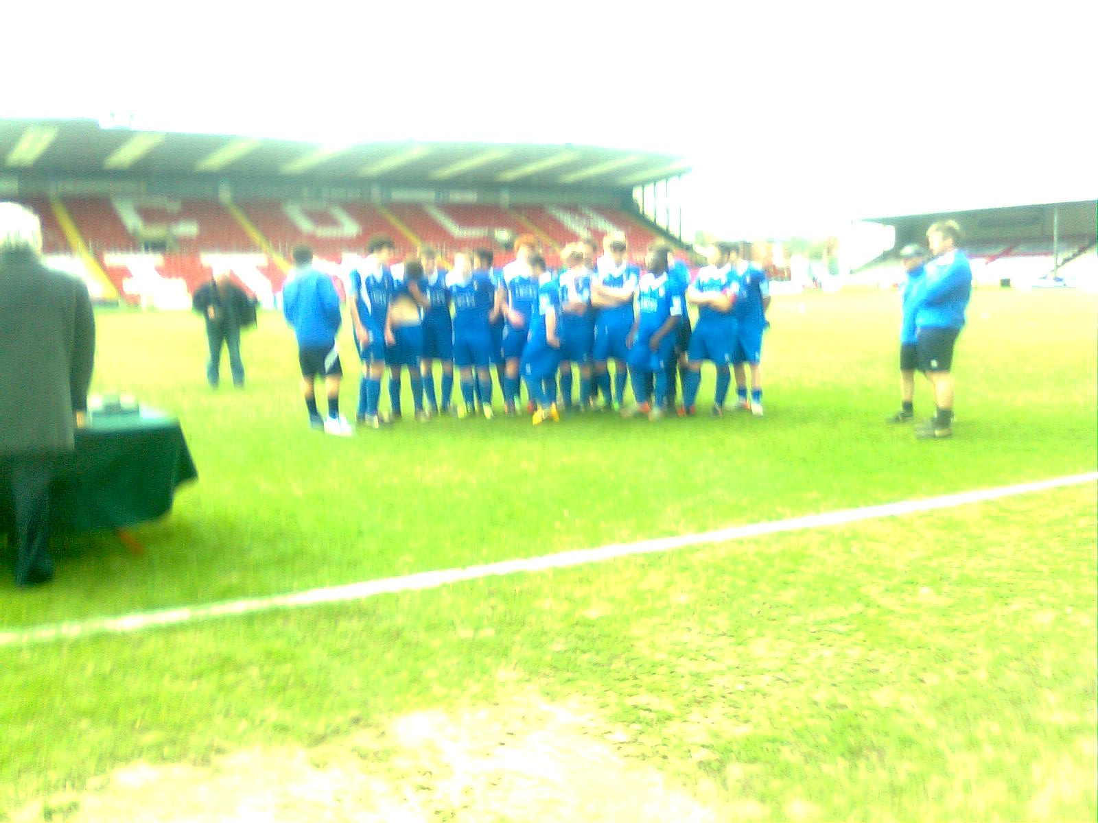 Gainsborough Celbreate winning County Cup in 2013