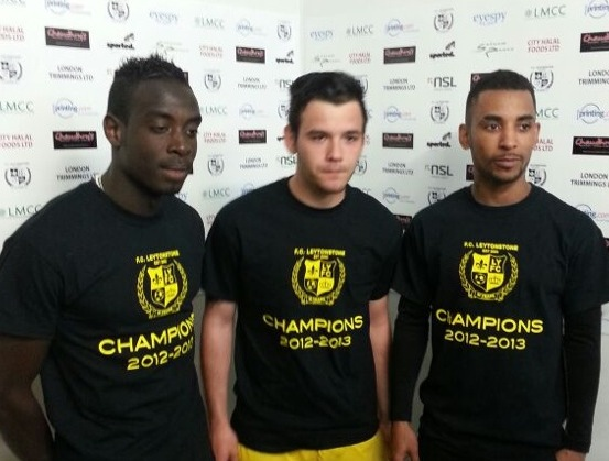 Three Players from the Champions winning side
