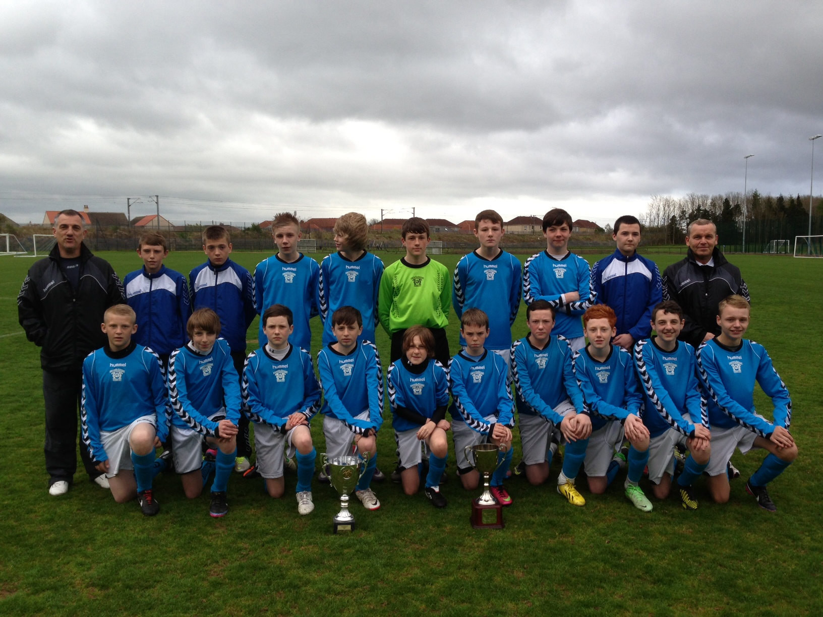 Irvine Meadow 99's League Winners 20012/13