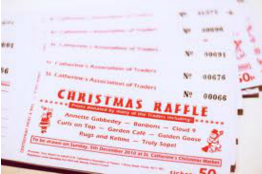 Christmas Raffle Tickets